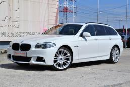BMW Rad 5 Touring 525d X-drive M-packet